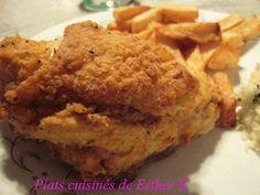 J'ai essayé plusieurs recettes de poulet frit et je suis toujours revenue à celle-ci, le poulet est très croustillant et ressemble sensibl...