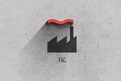 Record Label Rebrands by Ben Geier, via Behance