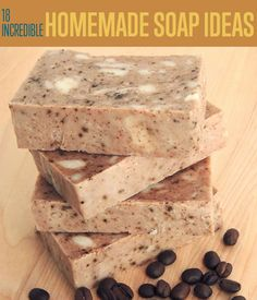 18 Incredible Homemade Soap Ideas | Great homemade soap recipes you should check out. | DIY Projects for the home from DIYReady.com #DIYHomeProjects #DIYReady