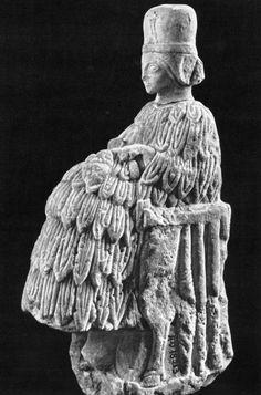 Vertigo1871 — Mari, Upper Mesopotamia, Praying queen, 2470 b.C.