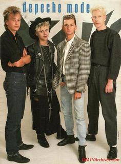 Depeche Mode in 80's