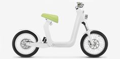 spanish bike-maker electric mobility company lets riders use their iphone as the dashboard on the xkuty electric bike.