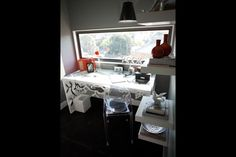 Dani and Dan's rooftop terrace and utility room