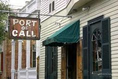 Port Of Call restaurant in New Orleans :)
