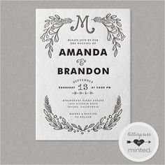 wedding invitations - Google Search