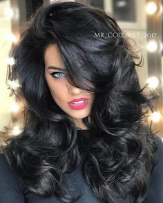 Try Cliphair Double Weft Human Hair extensions range to create a buzz about your hair ? Try Cliphair Double Weft Human Hair extensions range to create a buzz about your hair ? Beautiful Long Hair, Gorgeous Hair, Brunette Beauty, Hair Beauty, Beauté Blonde, Clip In Hair Extensions, Great Hair, Big Hair, Dark Hair