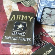 Defy expectations with a United States Army Zippo lighter. #Zippo #MadeInAmerica # USArmy #USA #Military