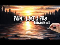 Painting Water and Reflections with Acrylics | Paint Like A Pro #5
