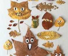Read information on easy crafts for kids Leaf Crafts, Dyi Crafts, Easy Crafts For Kids, Cute Crafts, Crafts To Do, Diy Fan, Diy Camping, Autumn Art, Creative Kids