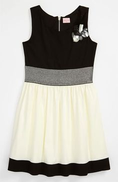 Zoe Ltd Two Tone Dress (Big Girls) available at #Nordstrom
