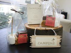 favors for future camping themed bday : S'more Birthdays to Come!