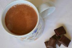 Palavras que enchem a barriga: Chocolate quente para uma noite de estudo :D