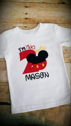 88a3df44 Items similar to I'm Twodles - Birthday shirt - mouse birthday - boy  birthday - baby boy birthday - first birthday - second birthday - toddler  birthday on ...
