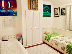 The kid's bedroom, fresh and new