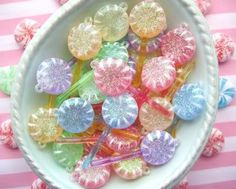Candy hairclips