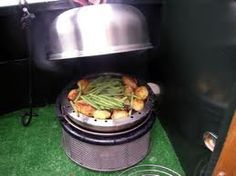 Cobb, for the garden, camping or just a day trip . We love our Cobb :) Cobb Cooker, Slow Cooker, Cobb Bbq, Cooker Recipes, Compost, Barbecue, Moet Chandon, Zombie Apocalypse, Baking