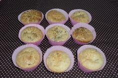 Muffin rápido de queijo com azeitonas | Tortas e bolos > Muffins | Receitas Gshow