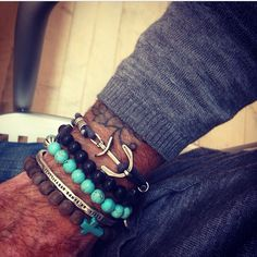 Turquoise, Pearls, Wood, Anchor…D'Amico Bracelets!