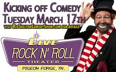 Official Red-Skelton-Tribute-Pigeon-Forge