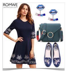 """""""#1/9 Romwe"""" by munira-salihovic ❤ liked on Polyvore"""