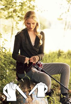 11/2011 Knit Wrap Top #114A http://www.burdastyle.com/pattern_store/patterns/112011-knit-wrap-top?utm_source=BS&utm_medium=bl&utm_campaign=bsawbl102314rusticweekendcoll-knitwraptop