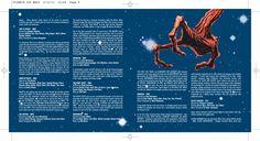 The Science Fiction album CD booklet spread. Client: Silva Screen Records. Circa 2002. © Sean Mowle.
