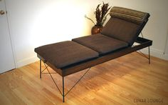 Siesta Day bed  / Bench  Mid Century by lunarloungedesign on Etsy, $650.00