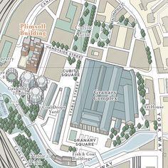 Client: Socrates Communications | February 2014 | Digital renderingI was approached by Socrates Communications to produce a pair of detailed illustrated maps of the King's Cross area in London for…