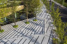 Vanke Urban Community Sales Gallery, China, by Zinialand Landscape Architects - 谷德设计网