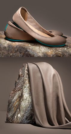 Introducing Taupe Tieks - a stunning and sophisticated neutral inspired by the earth we love | Tieks Ballet Flats