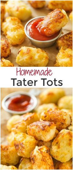 You+need+only+3+main+ingredients+for+these+fluffy,+cheesy+homemade+tater+tots.+Baked+or+fried,+these+little+bites+are+perfect+snack+for+kids+and+adults+alike!+via+@shineshka
