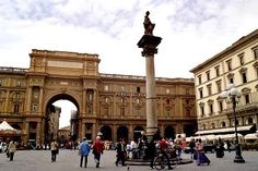 My favourite square in Florence...