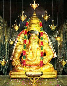 "Ganesha at ""Pillayar Patti"" near Madurai, TN India Lord Murugan Wallpapers, Lord Vishnu Wallpapers, Ganesh Images, Ganesha Pictures, Hanuman Images, Hanuman Photos, Krishna Images, Om Namah Shivaya, Ganesh Bhagwan"