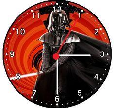 Star Wars Darth Vader Wall Clock @ niftywarehouse.com #NiftyWarehouse #Geek #Products #StarWars #Movies #Film