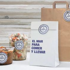 Branding para Falcón mariscos 🦀🐠 #nōmadaproject #graphicdesign #branding #packaging