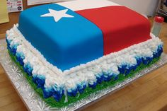 awesome texas cake.... my husband would LOVE this!!!