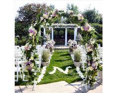 Sophia Concepto Floral / decoración para la ceremonia de la boda / decoración iglesia / #boda