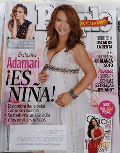 Adamari,Mi Bebe es niña,2014,Diciembre,People en espanol,TV,Spanish