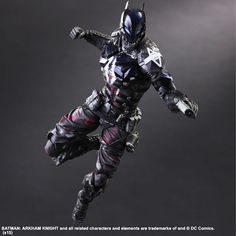 Square Enix Does It Again With Their Play Arts Kai Arkham Knight Figure