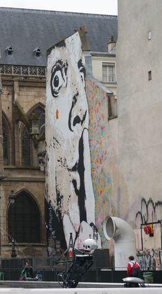Paris Beaubourg-favorite mural