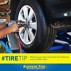 Get those #tires ready to roll! Is it time to rotate yours? #ExpressTire