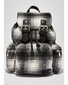 190b1198c6 Plaid To Be Back Backpack  dollskill  currentmood  backtoschool  punk   backpack Current