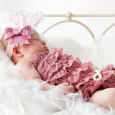 Adornos para el pelo del bebe Divertidos tocados con plumas velo y