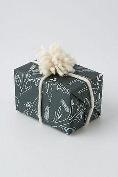 rifle paper co. wrap/pompom ribbon | designlovefest
