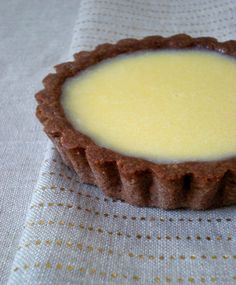tarte chocolat blanc