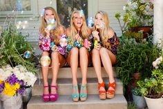 Bubble fun with sisters // #sisters #sorority #bubbles