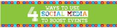 Social Media can play an important role before, during and after an event.