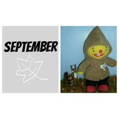 Maandkaart puk Vader, September, Education, School, Kids, Childhood, Young Children, Boys, Children