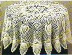 free crochet tablecloth patterns