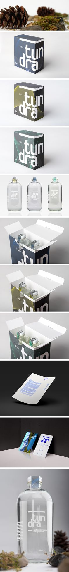 tundra water — packaging & branding on Behance